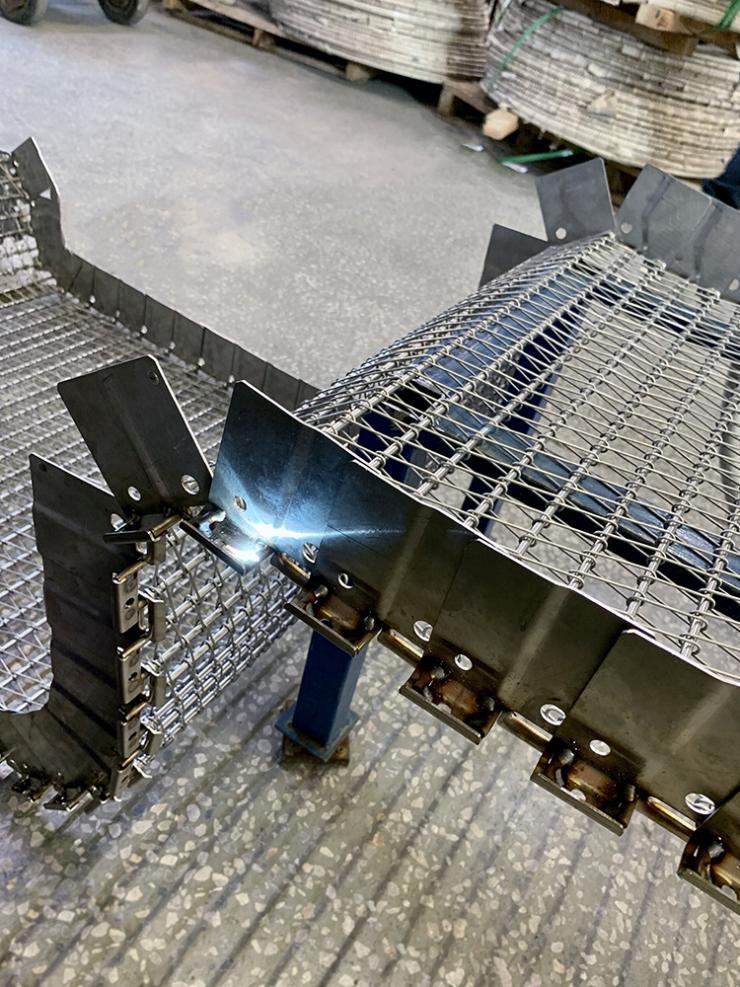 Стержневой конвейер конвейер охлаждающий